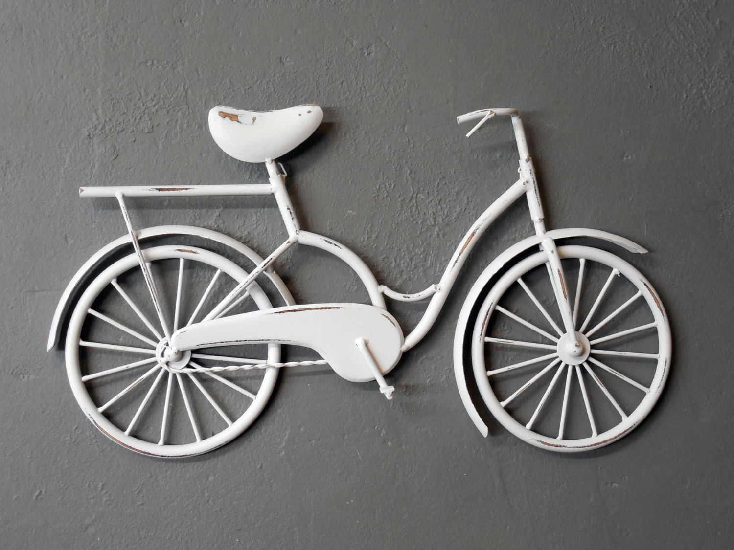 Wall art metal bicycle : Bicycle wall art decor beach