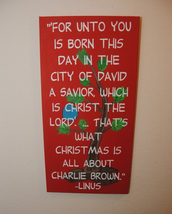 Charlie Brown Christmas sign Charlie Brown by ...