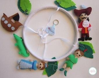 Peter Pan baby mobile / baby nursery mobile / crib mobile
