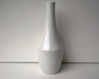 H&C Heinrich Selb Bavaria, Modern Porcelain Vase, Nr 1841, West German Pottery, 1970s