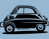 BMW Isetta - Choose Your Sizes, Materials, & Colors