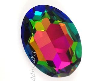 4127 VITRAIL MEDIUM 30x22mm Swarovski Crystal Oval Faceted Fancy Stone No Hole