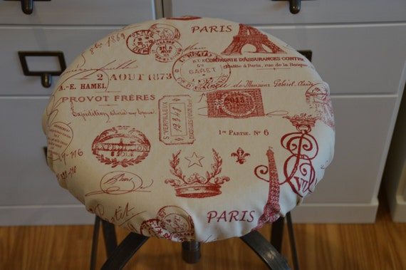 Elasticized Round Barstool Cover Seat Cushion Cover Counter