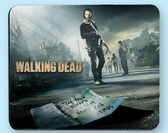 The Walking Dead Rick Grimes Mouse Pad
