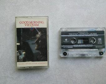 Good Morning Vietnam cassette soundtrack