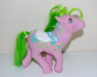 My Little Pony Sunnybunch Merry Go Round Carousel Horse 1989