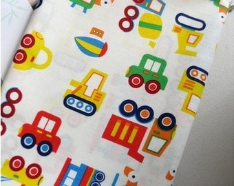Waterproof Fabric Cars White By The Yard