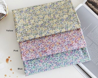 Laminated Cotton Fabric in 3 Colors By The Yard