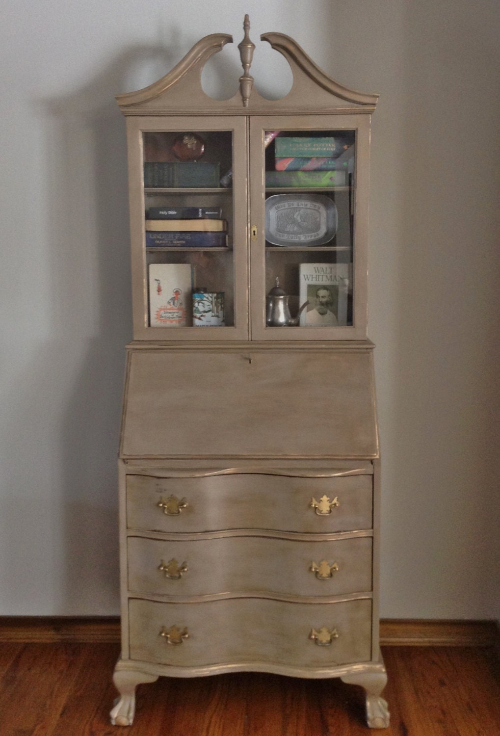 desk seas with pin w display secretary furniture by hutch seven hooker