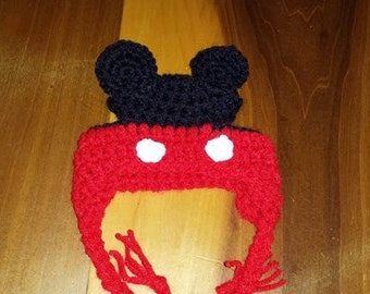 Mickey Mouse Dog Hat, Minnie Mouse Dog Hat, Crochet Dog Hat, Winter Dog Hat, Dog Accessories, Dog Clothing