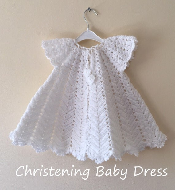 Crochet Baby Dress Pattern, First Outfit Baby Shower Gift ...