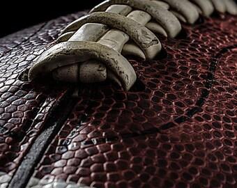 Football Photography, Football, Wall Art, Home Decor, Office Decor, Color Photo