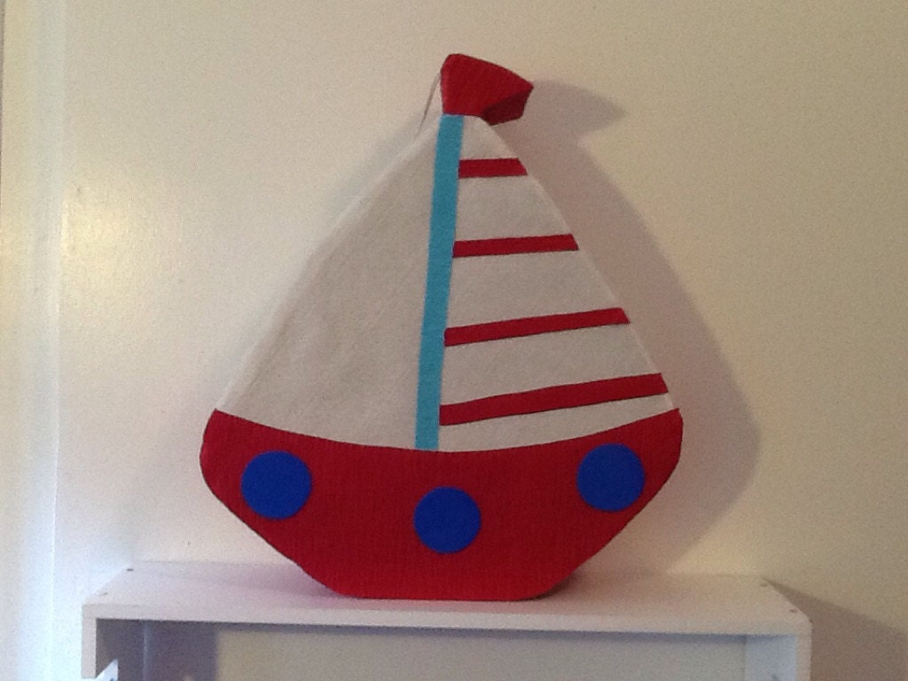 nautical pinata boat pinata nautical baby shower pinata