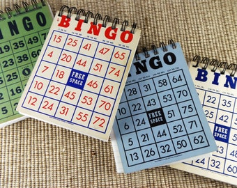 Vintage Bingo Card Notepad