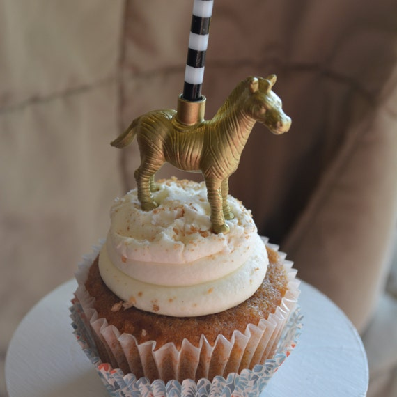 Items Similar To Zebra -Animal Birthday Candle Holder On Etsy
