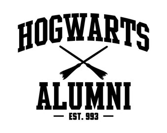Hogwarts Alumni Decal Sticker