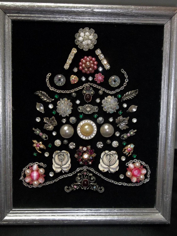 Make Christmas Tree Earrings