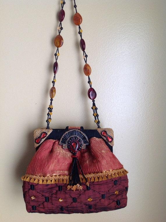 SALE Vintage Mary Francis Handbag. Excellent Condition