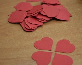 Wedding confetti hearts