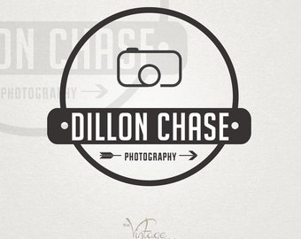 Premade Photography Logo - Hipster Premade Logo and Watermark for Photographer and/or Studio