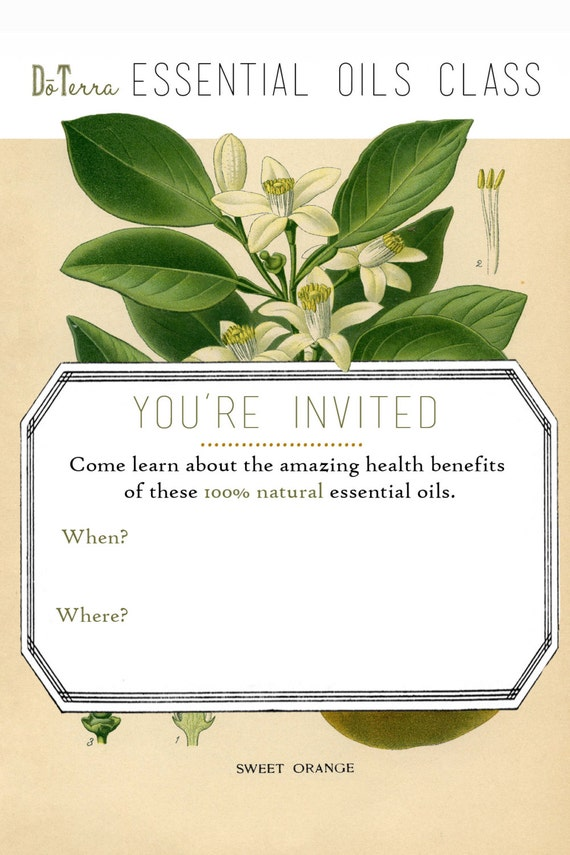 Doterra Invitation haywardtoytv