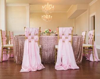 Blush Pink, Rose Gold Sequin Swatch Fabric, Light Pink Sequin, Baby Pink Sequin, Glitter Linen