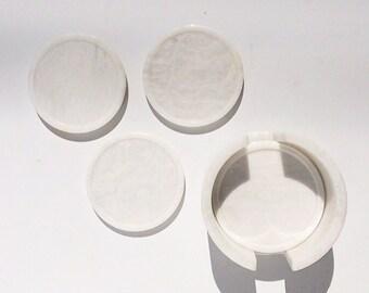 Set of 6 Marble Coasters