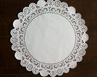 """Free Shipping 250-12"""" White Paper Lace Doilies-Wedding Doilies-Party Decor-Gift Wrap"""
