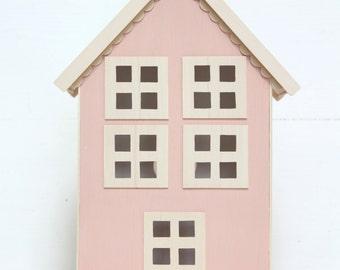 Casita Night Light - Pink - Handmade