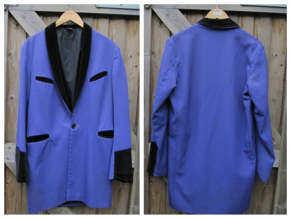 Vintage Made In The England Wool DRAPE Jacket