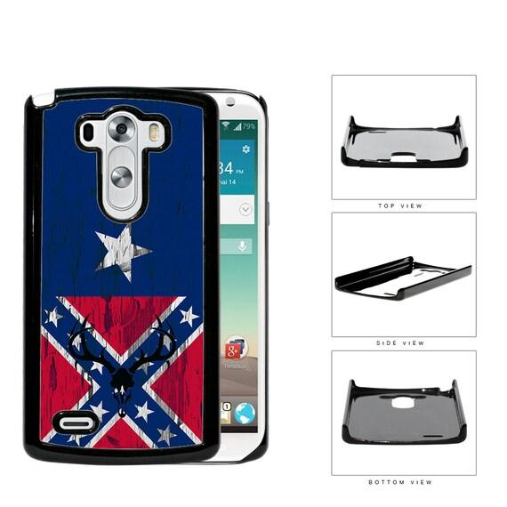 Confederate Flag Deer Hunter Skull Bones Phone Case For Moto X, Moto G ...