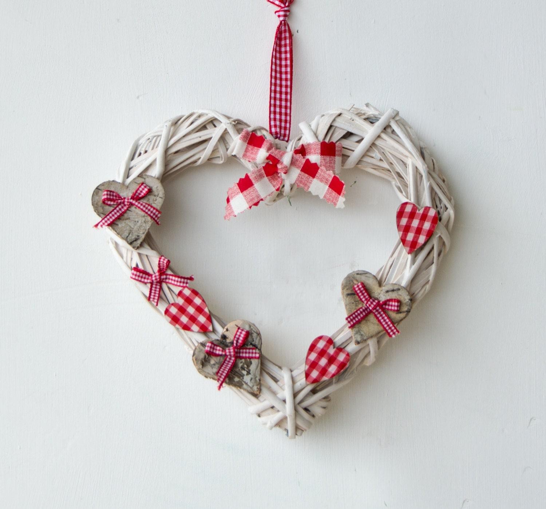 Ghirlanda a forma di cuore idea regalo romantico ghirlanda - Arance secche decorazione ...