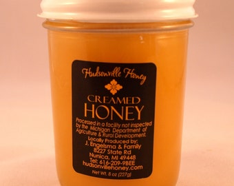 Creamed Honey  - 8 ounce jar