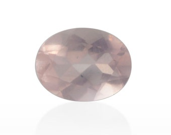 Galilea Rose Quartz Loose Gemstone Oval Cut 1A Quality 9x7mm TGW 1.25 cts.