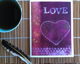 Card- LOVE