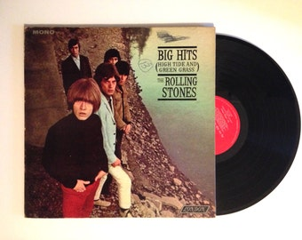 25% OFF LP Album The Rolling Stones Big Hits High Tide And Green Grass Vinyl Record 1966 Satisfaction