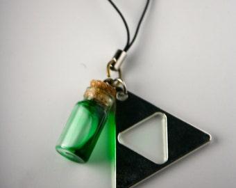 Legend of Zelda Potion Cellphone Charm