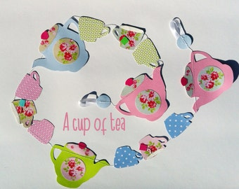 garland a cup of tea