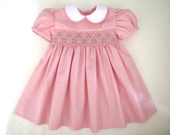 Fall Smocked Dresses For Little Girls Smocked Dress Baby Girl