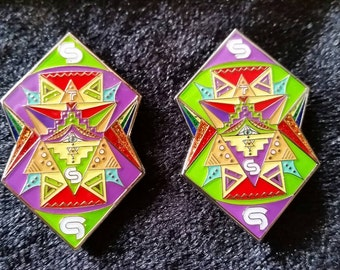 STS9 Pin Silver Edition