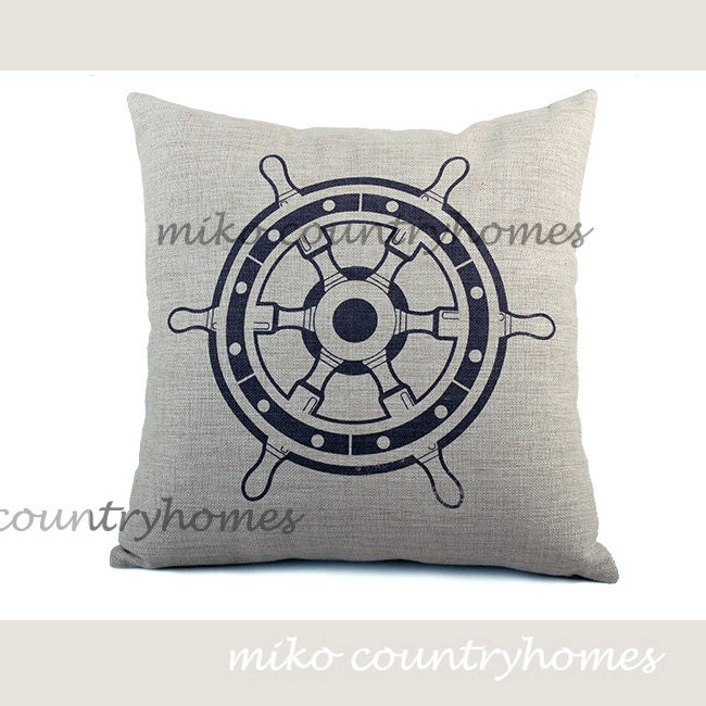 Throw Pillow Covers Nautical : Throw Pillow Cover Nautical Series Nautical by MikoCountryHomes
