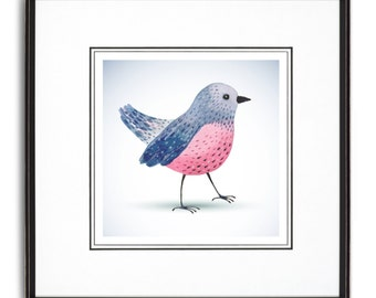 Baby Bird Art Print
