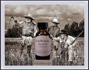 Beard and Mustache Oil, Unscented
