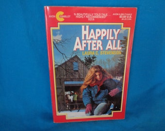vintage 1993 Happily After All book by Laura C. Stevenson