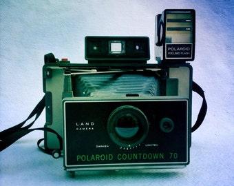 Vintage Polaroid Countdown 70 Land Camera / Instant Camera