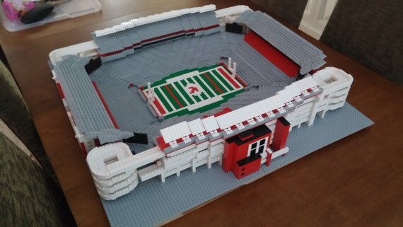 Alabama's Bryant-Denny Stadium, Brick model
