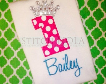 Birthday Princess Shirt or Bodysuit