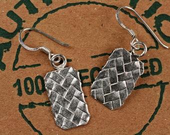Silver Dangle Earrings, Sterling Silver Earrings, Silver Earrings, Dangle Earrings