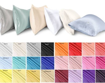 Pillow Cases - pack of 6 - Multiple Colors and Sizes