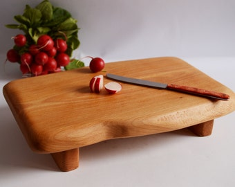 Wooden cutting board Wood serving platter Chopping board Cutting board Ready to ship